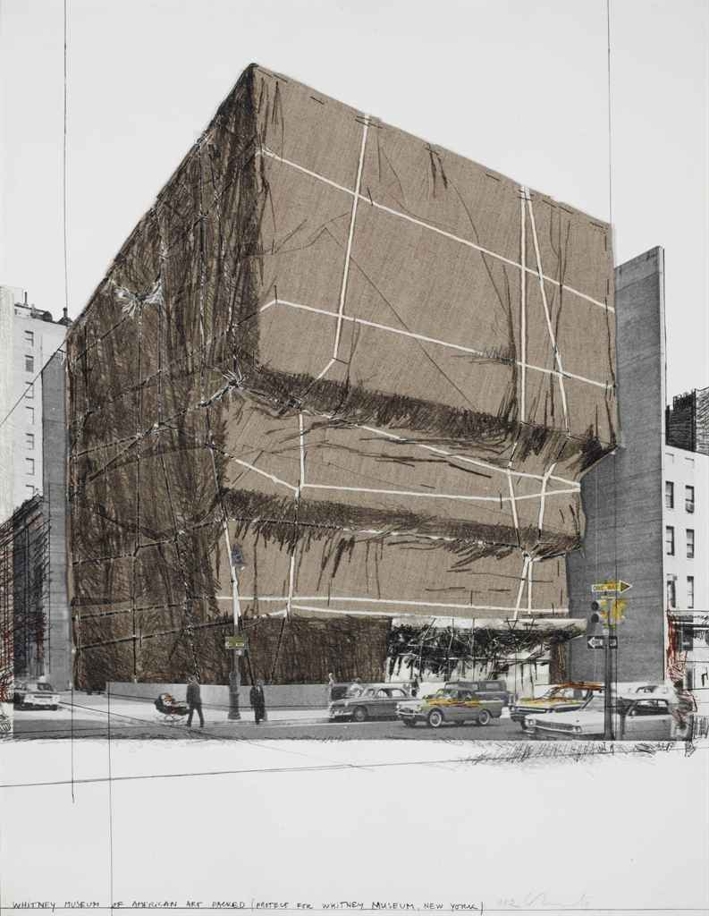 Christo | Whitney Museum of American Art, Packed 1971