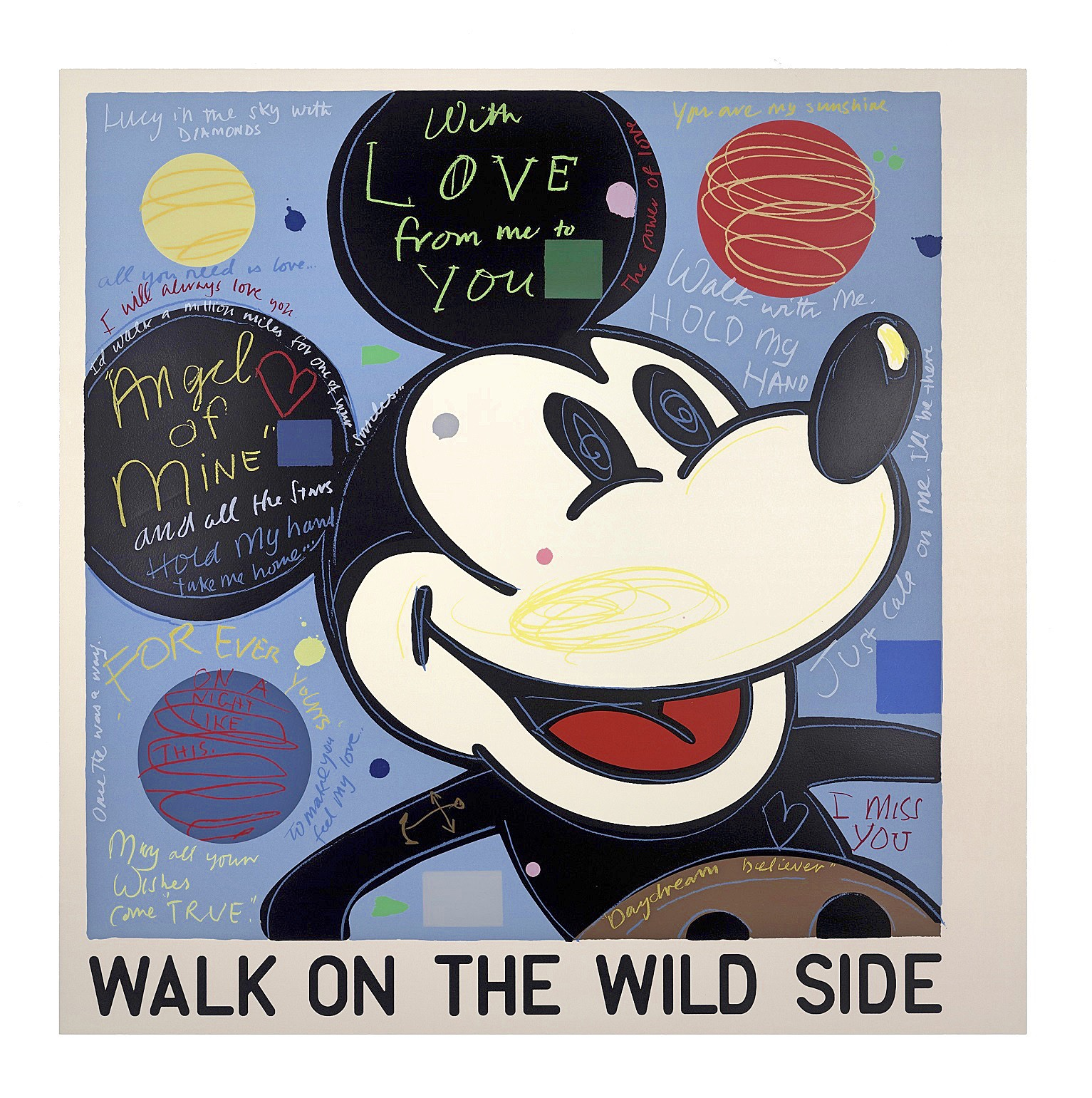 David Spiller | With Love (Mickey) 2016