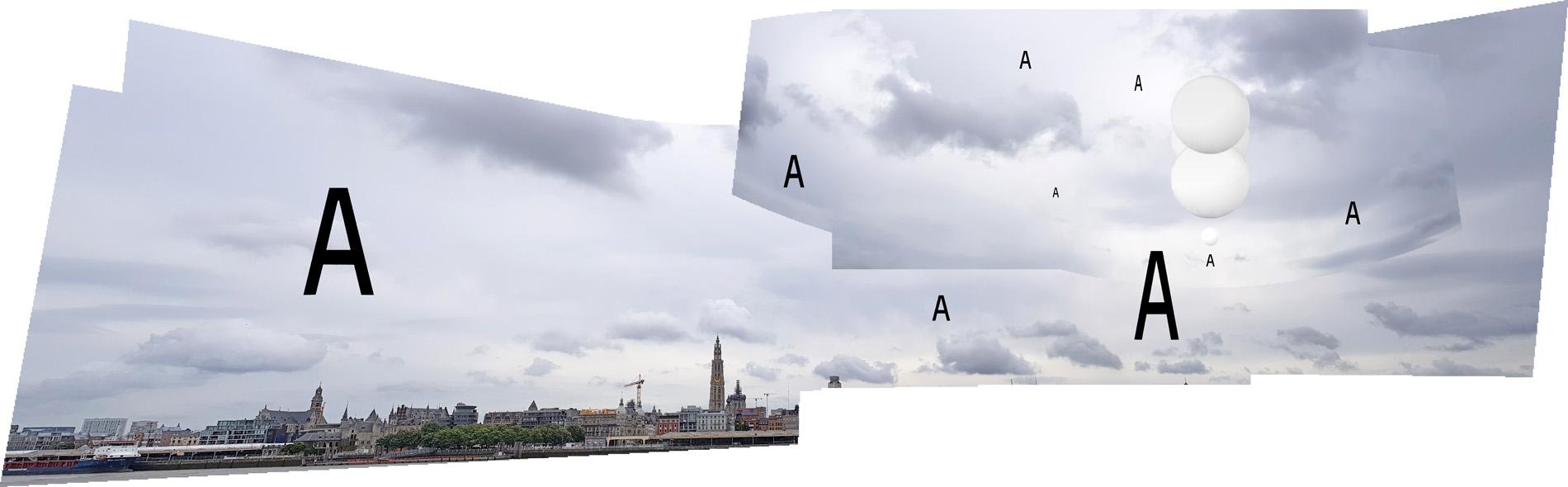 Eric Colpaert   Antwerpen/Antwerp (Appearances in the Sky) 2018
