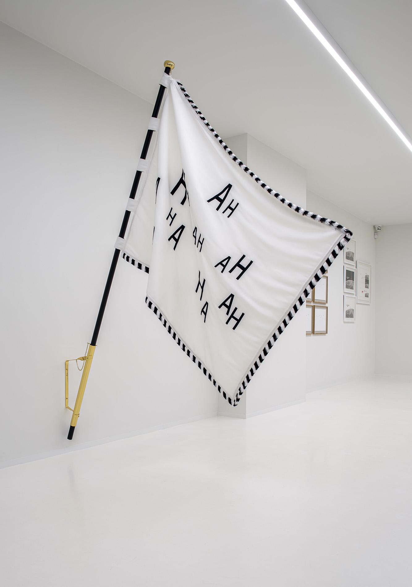 Eric Colpaert | 'AHA' Vlag / Drapeau 'AHA' 2019