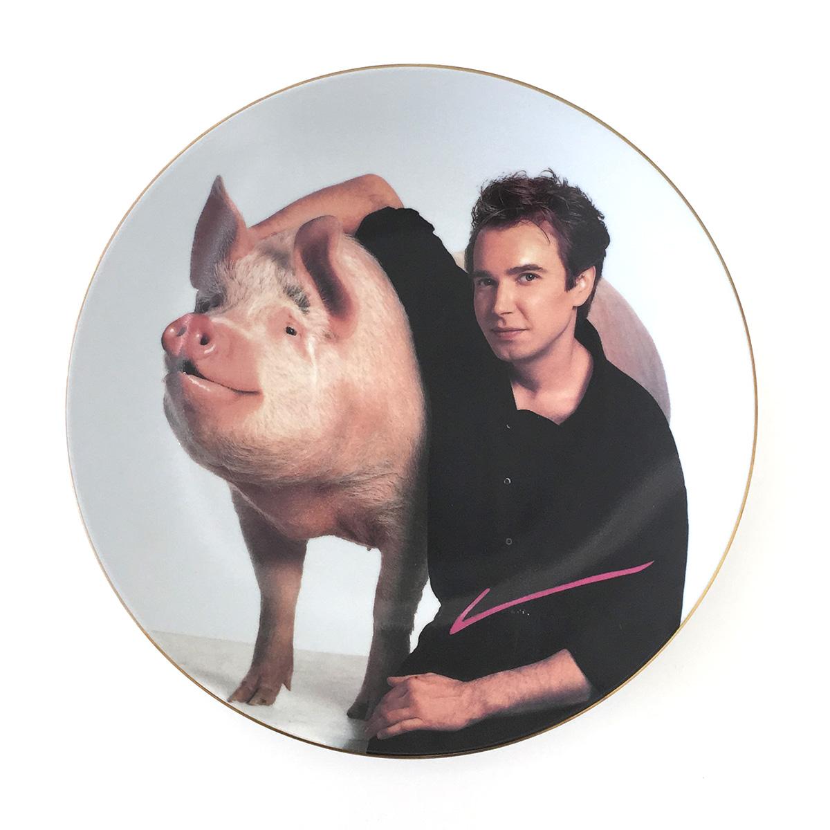 Jeff Koons | Signature Plate 1989