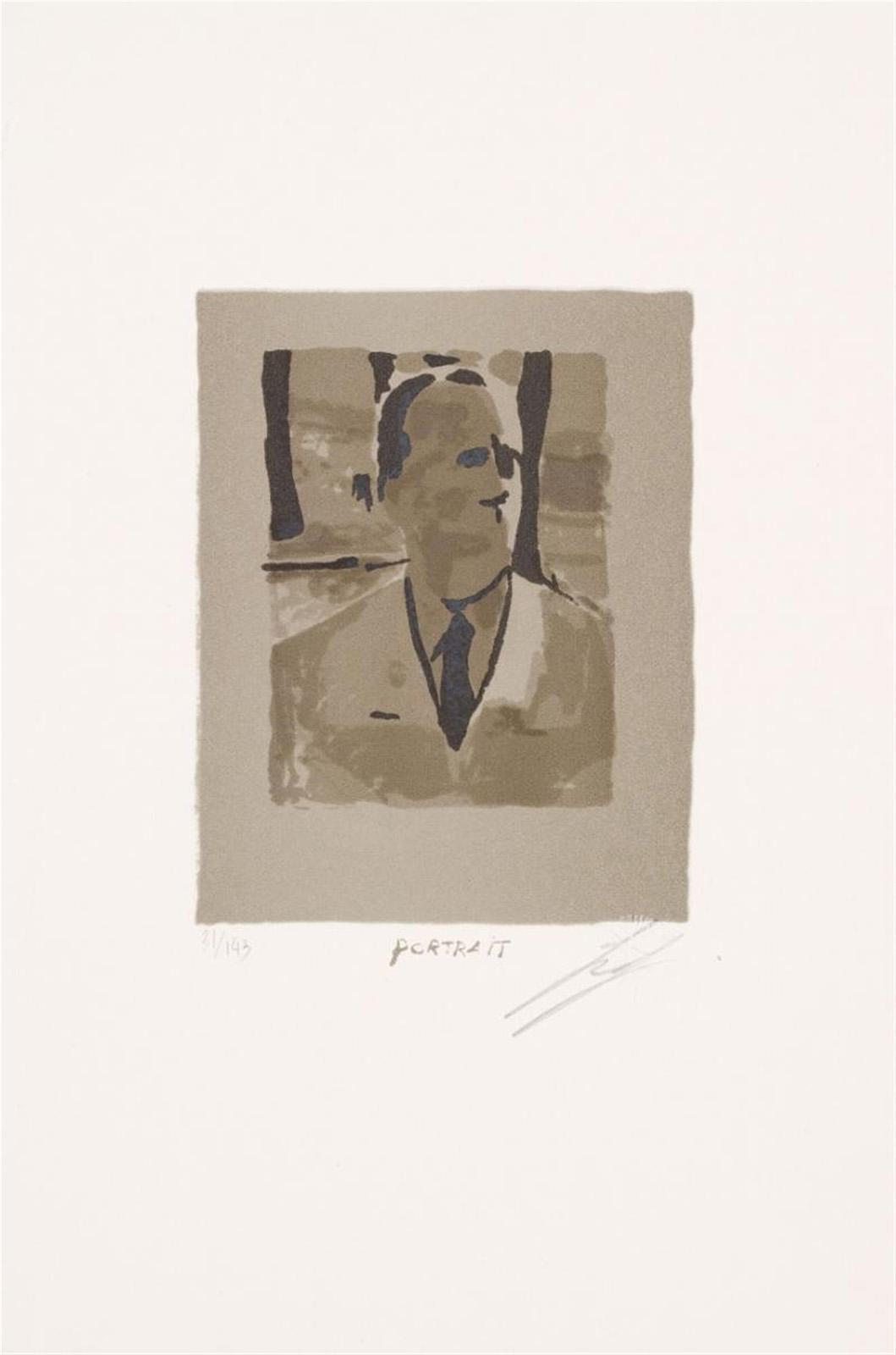 Luc Tuymans   Portrait 1995