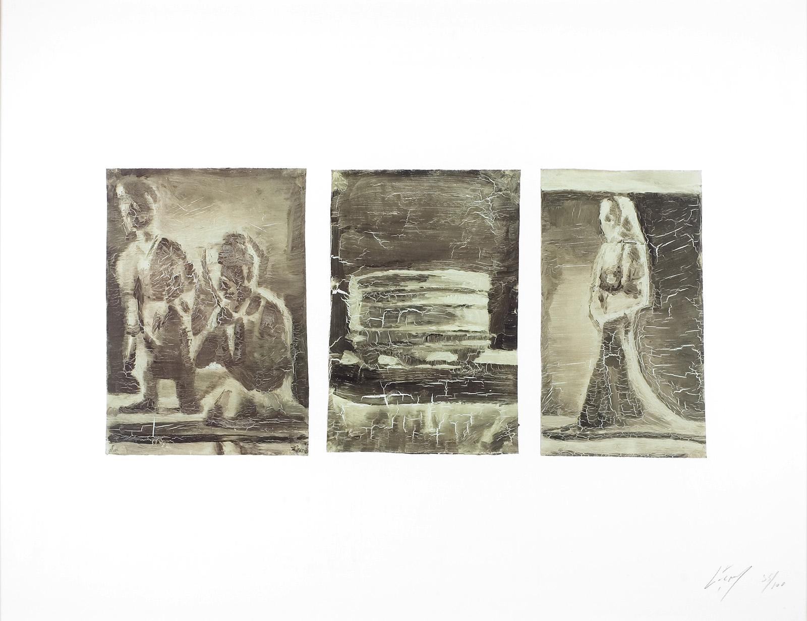 Luc Tuymans | Untitled (Triptych) 2001