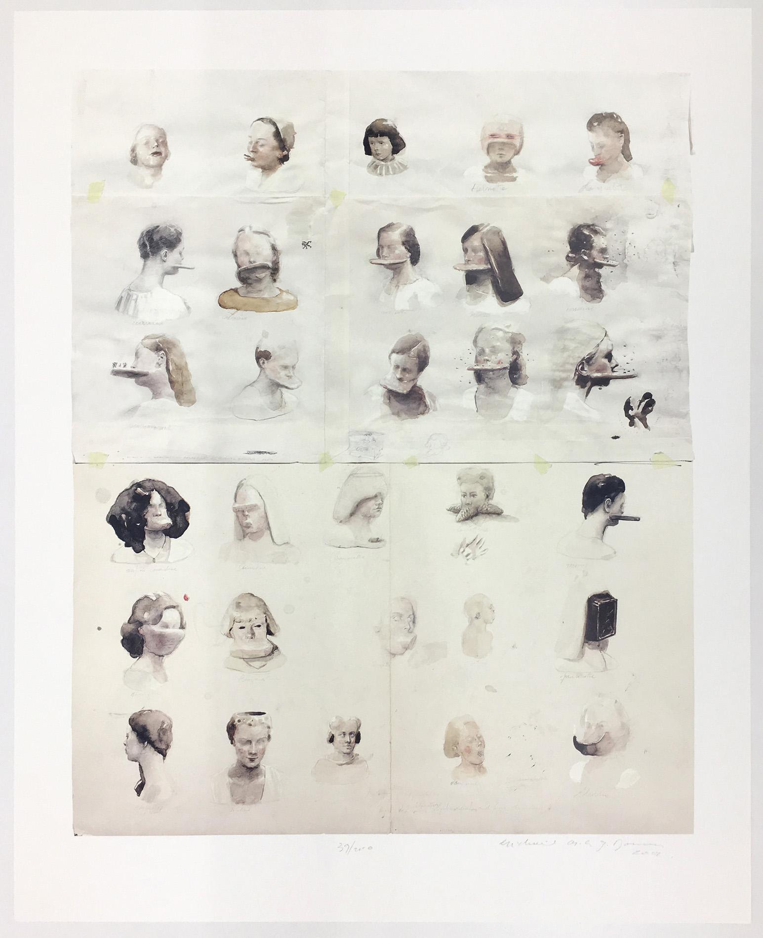 Michaël Borremans   Right Decisions, slight modifications and fresh etymology 2002