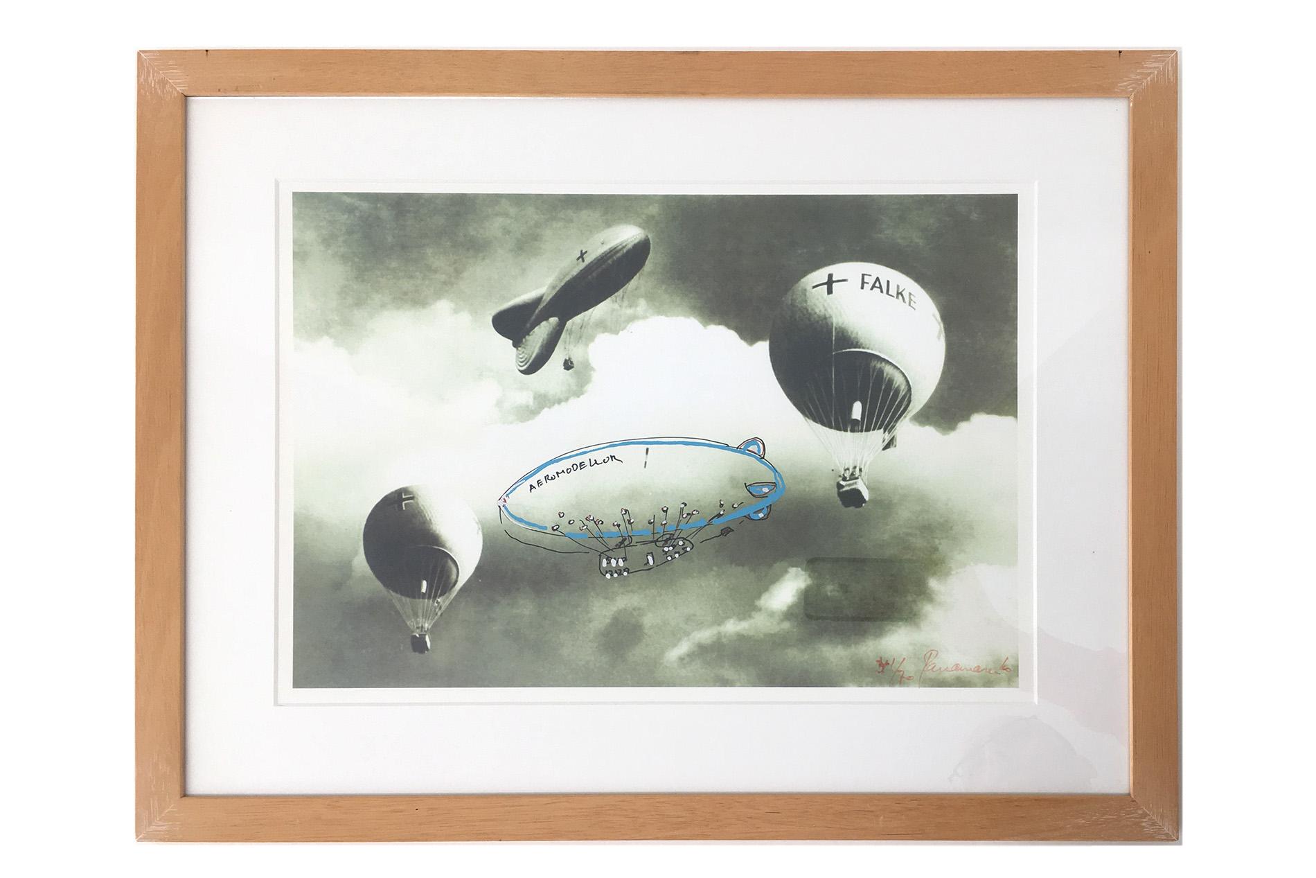 Panamarenko | Aeromodeler + Falke 2003
