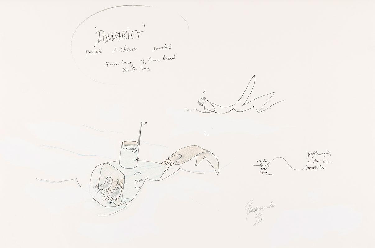 Panamarenko | Donnariet 2003