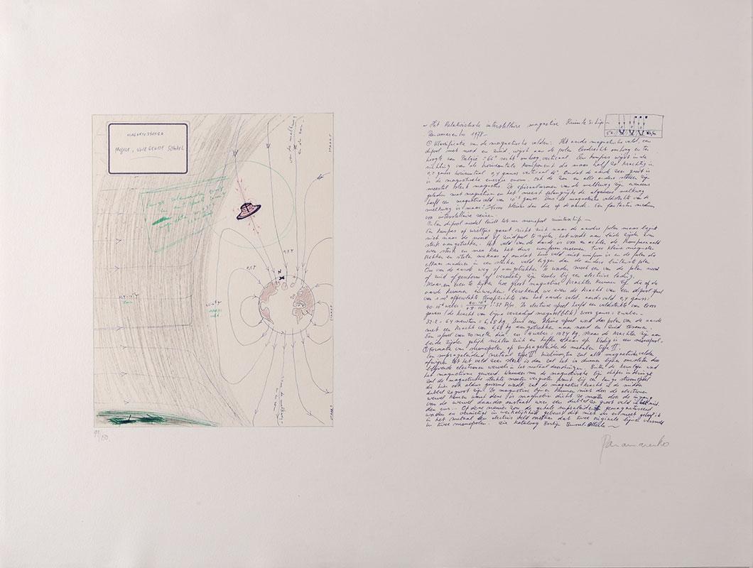 Panamarenko | Magnetostatica (Project, Vliegende schotel) 1978