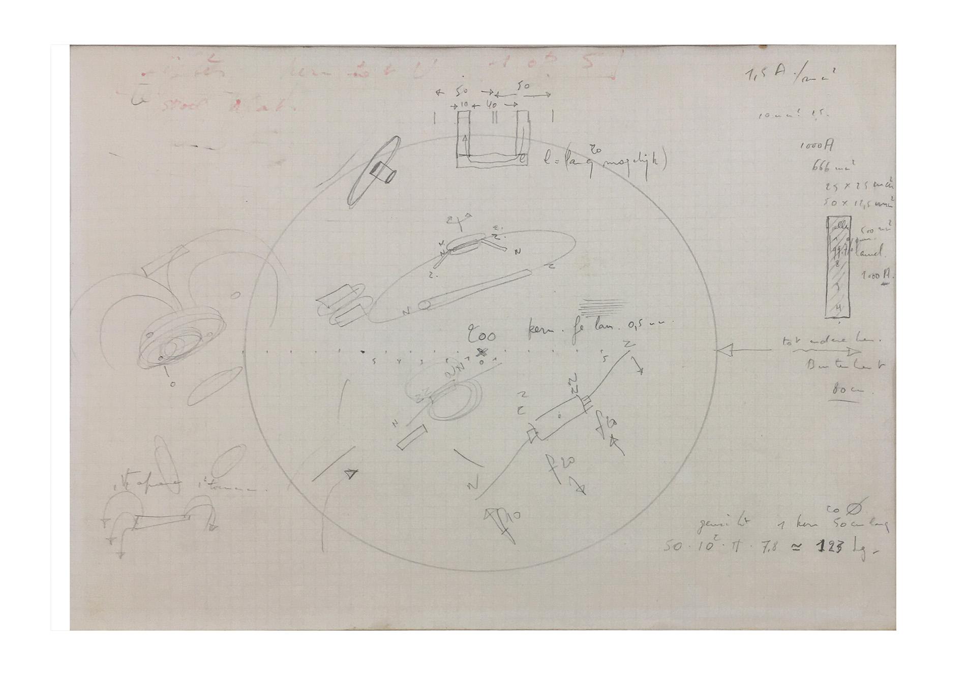 Panamarenko | Originele tekening (tweeluik) 1976