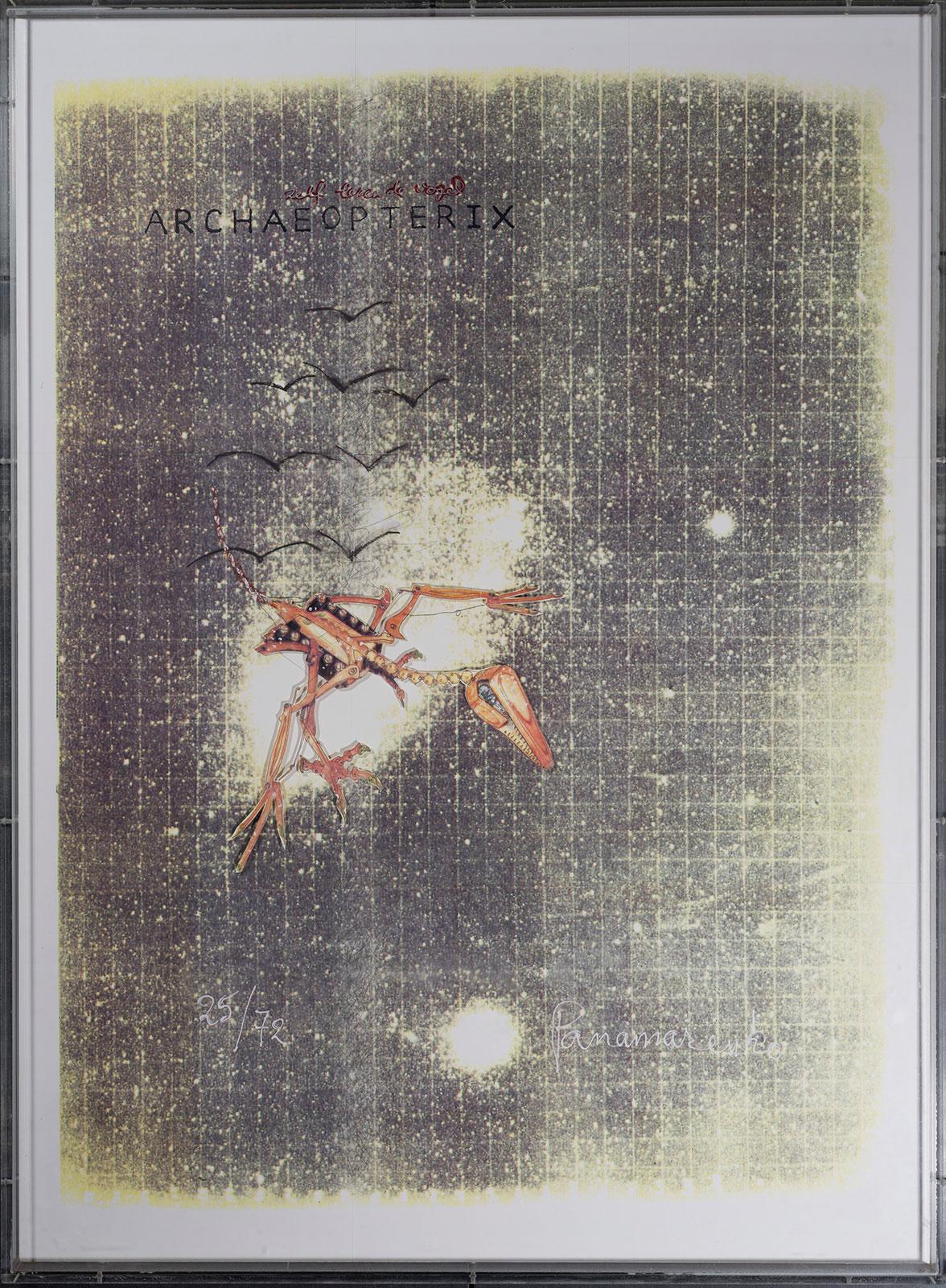 Panamarenko | Zelf lerende vogel 1991