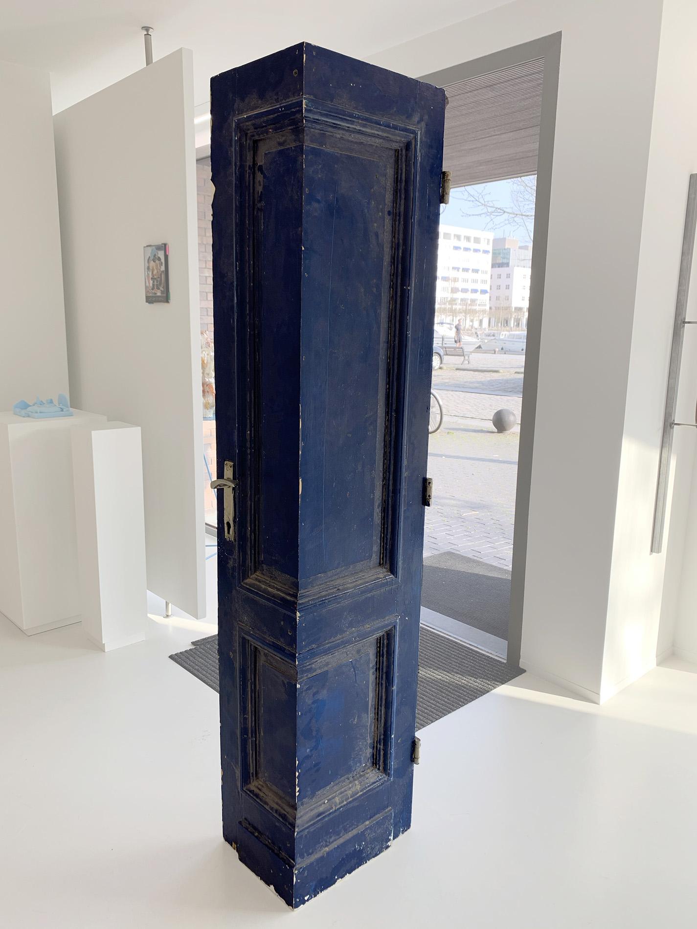 Redemption Song | Yi Zhang - Door (blue) 2020