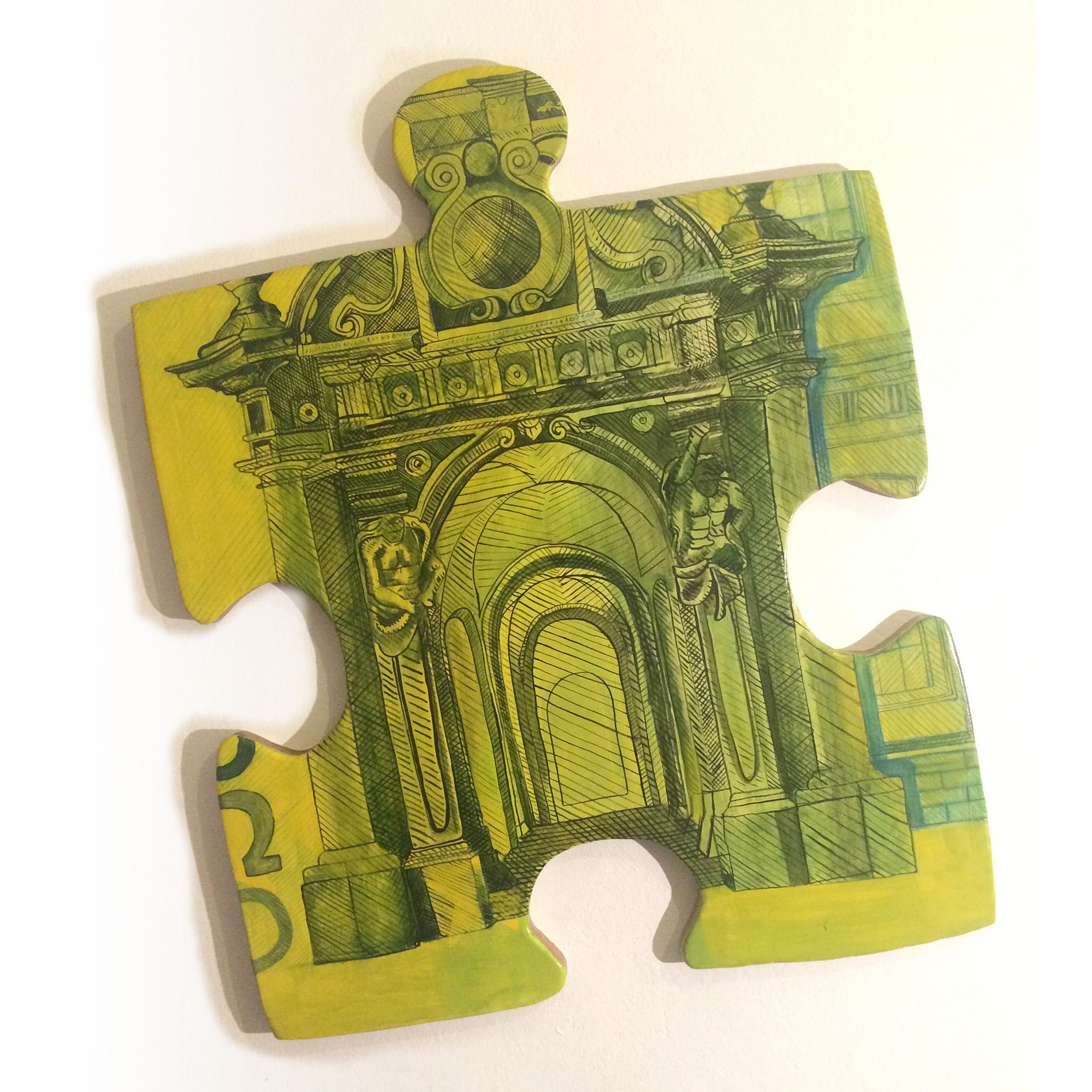 Victoria Parvanova | 100 Euros Puzzle 2021