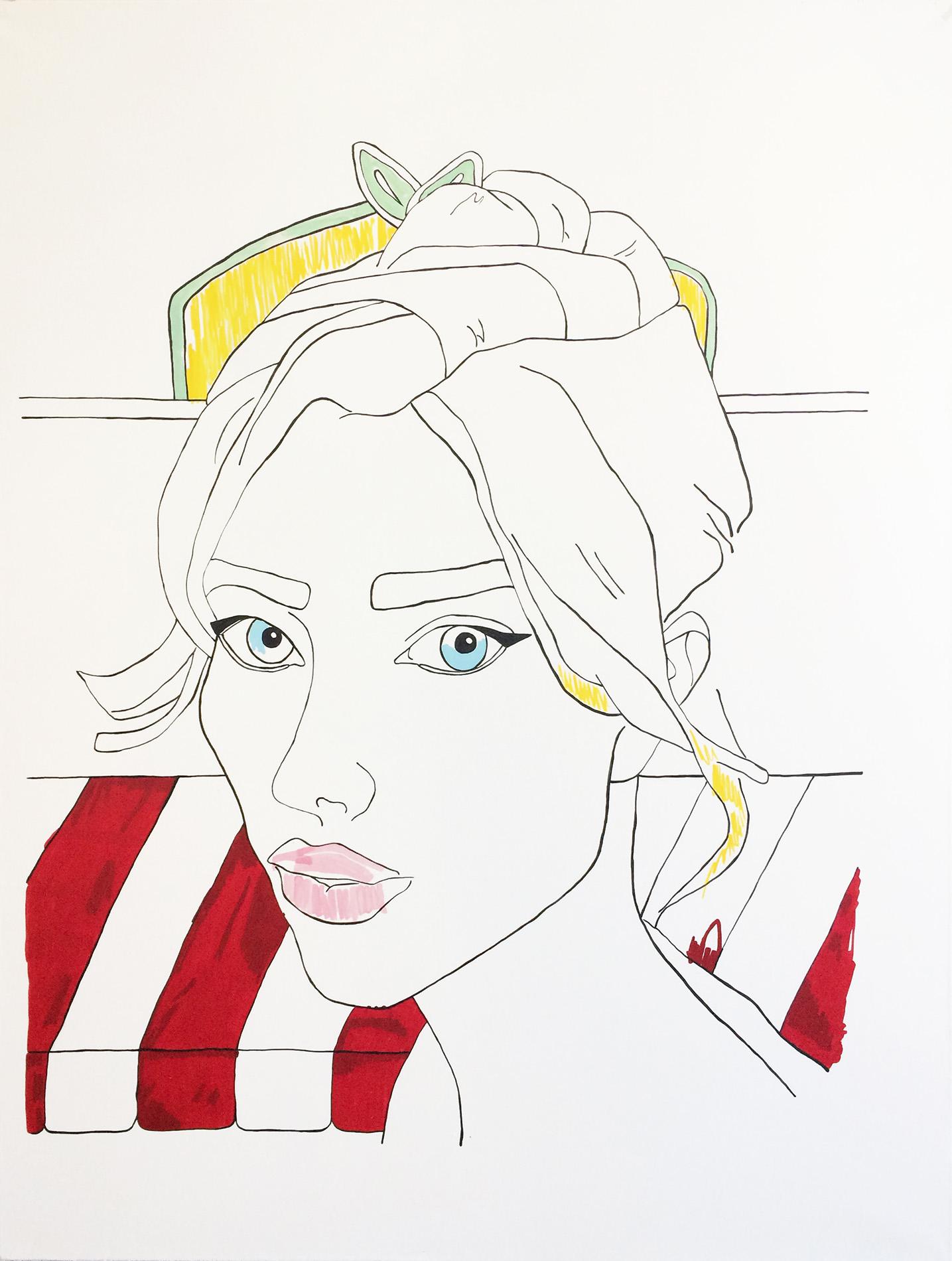 Victoria Parvanova | Barbie at the Lunchgarden 2020