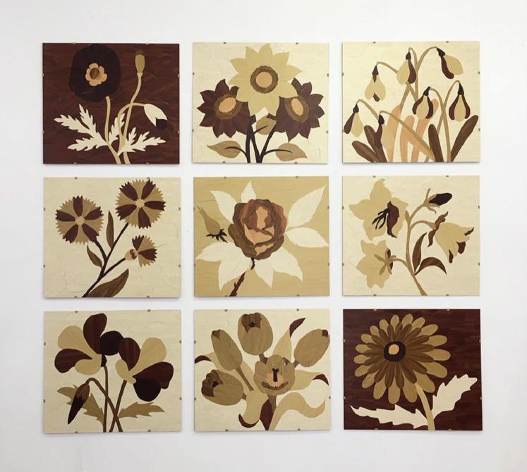 Zena Van den Block   The Possibility of Becoming Wood (Flowers) 2019