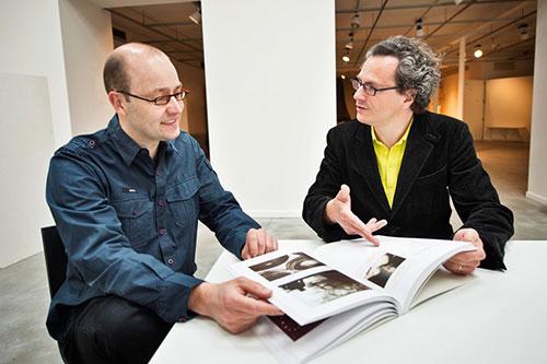 Bart Van Acker en Gert Junes, mei 2013