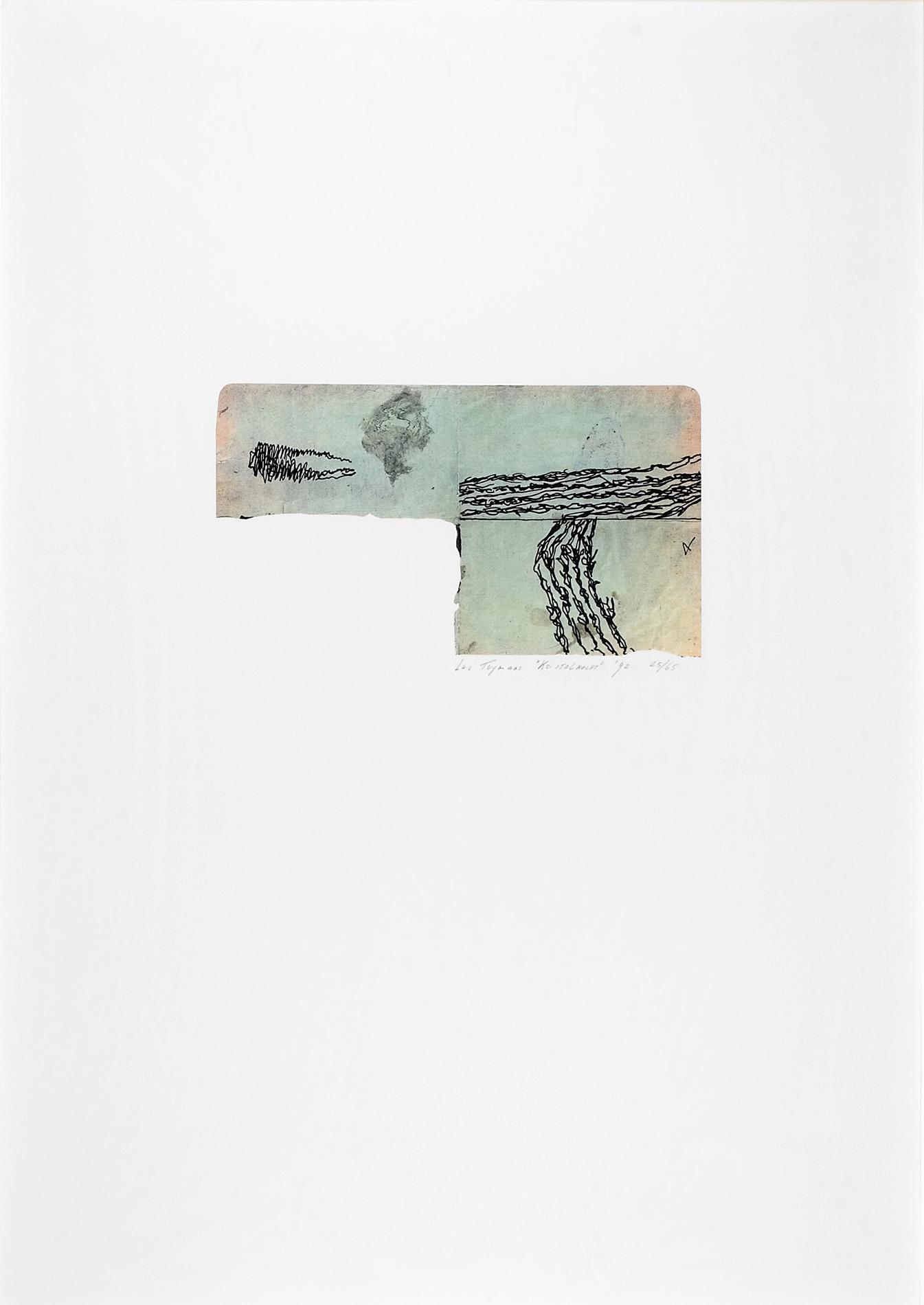 Luc Tuymans | Kristallnacht 1992