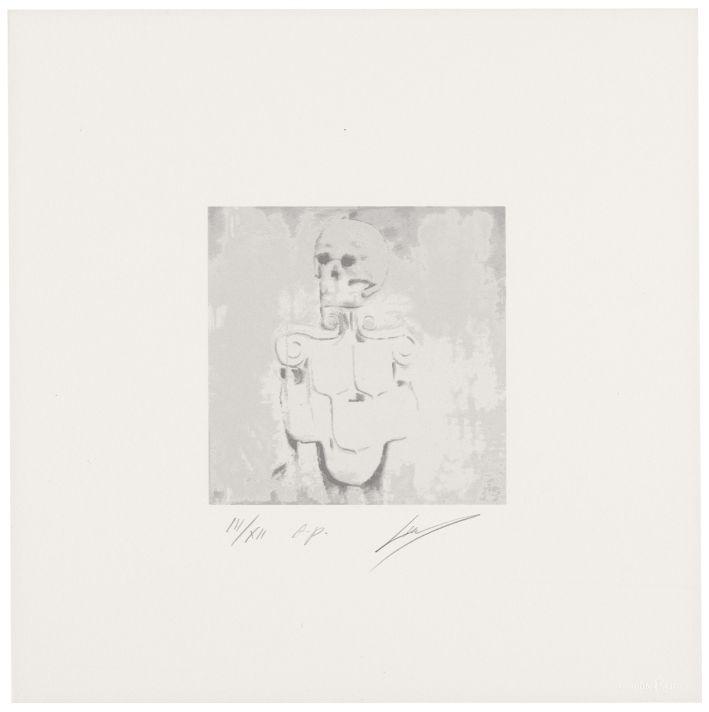 Luc Tuymans | Dead Skull 2010